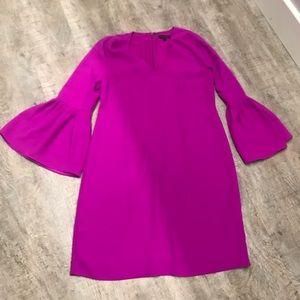 Banana Republic bell sleeve sheath dress sz 10